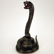 Striking Snake Animated Prop