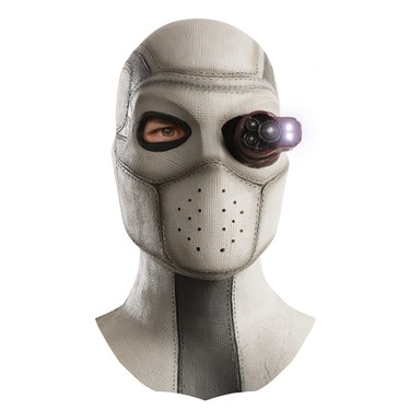 Suicide Squad Deadshot Light-Up Latex Adult Mask