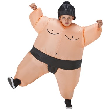 Sumo Wrestler Inflatable Child Costume