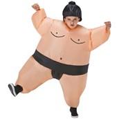 Sumo Wrestler Inflatable Child Costume