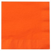 Sunkissed Orange (Orange) Lunch Napkins (50 count)
