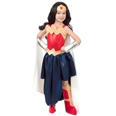 Super Hero Girls Premium Child Wonder Woman Formalwear