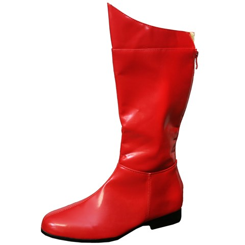 Super Hero (Red) Adult Boots