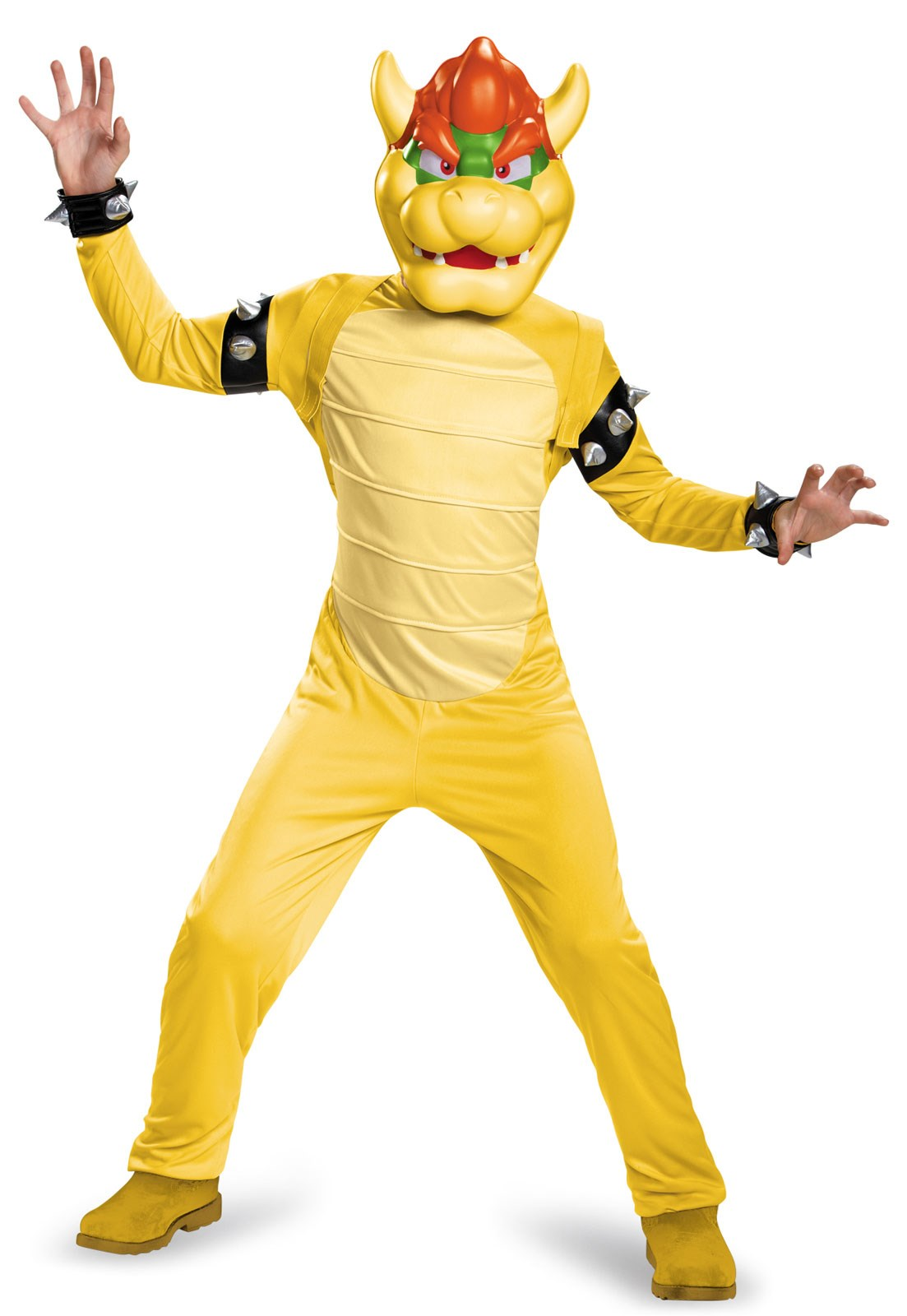 Super Mario Bros: Kids Deluxe Bowser Costume