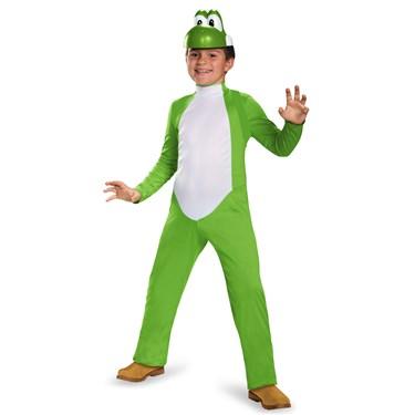 Super Mario Bros: Kids Yoshi Deluxe Costume
