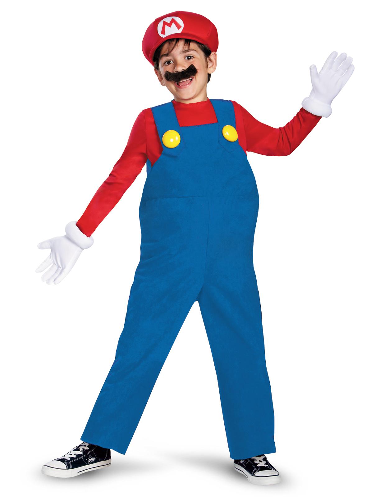 Super Mario Bros. - Mario Deluxe Toddler / Child Costume ...