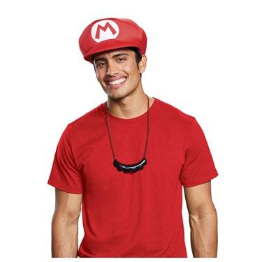 Super Mario Bros. Mario Hat & Mustache Necklace Kit