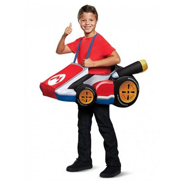 Super Mario Bros.  Mario Kart Child Costume