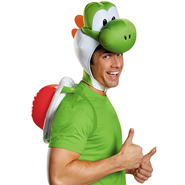 Super Mario Bros: Yoshi Costume Kit For Adults