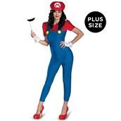 Super Mario Brothers - Deluxe Female Mario Plus Size Costume