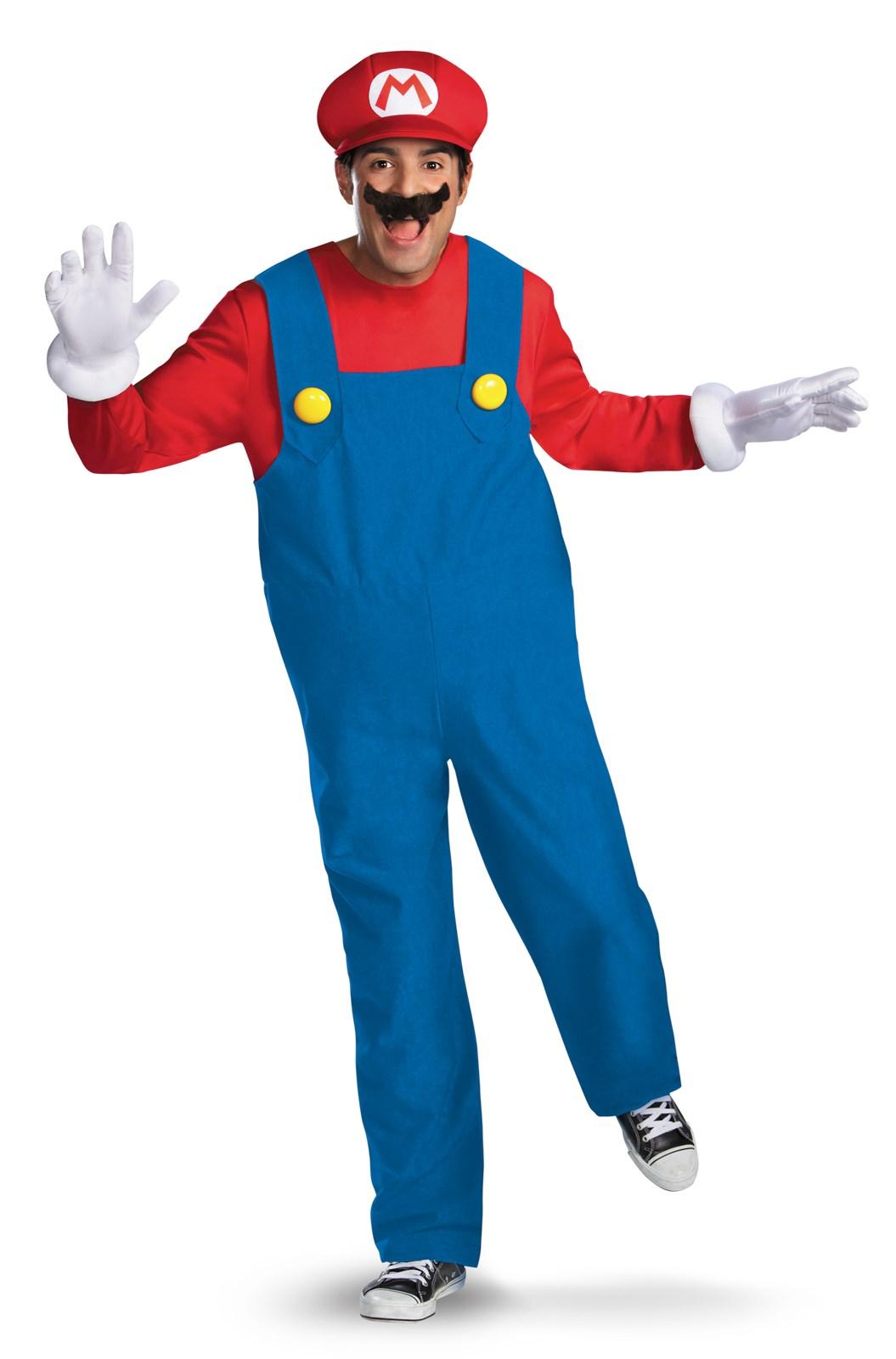 Super Mario Brothers Mario Adult Costume Buycostumes Com