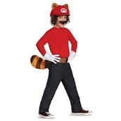 Super Mario Brothers Mario Raccoon Child Kit