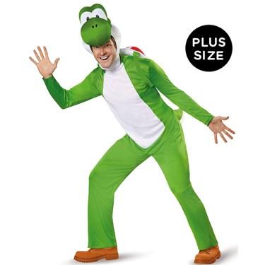 Super Mario:  Deluxe Adult Yoshi Plus Costume