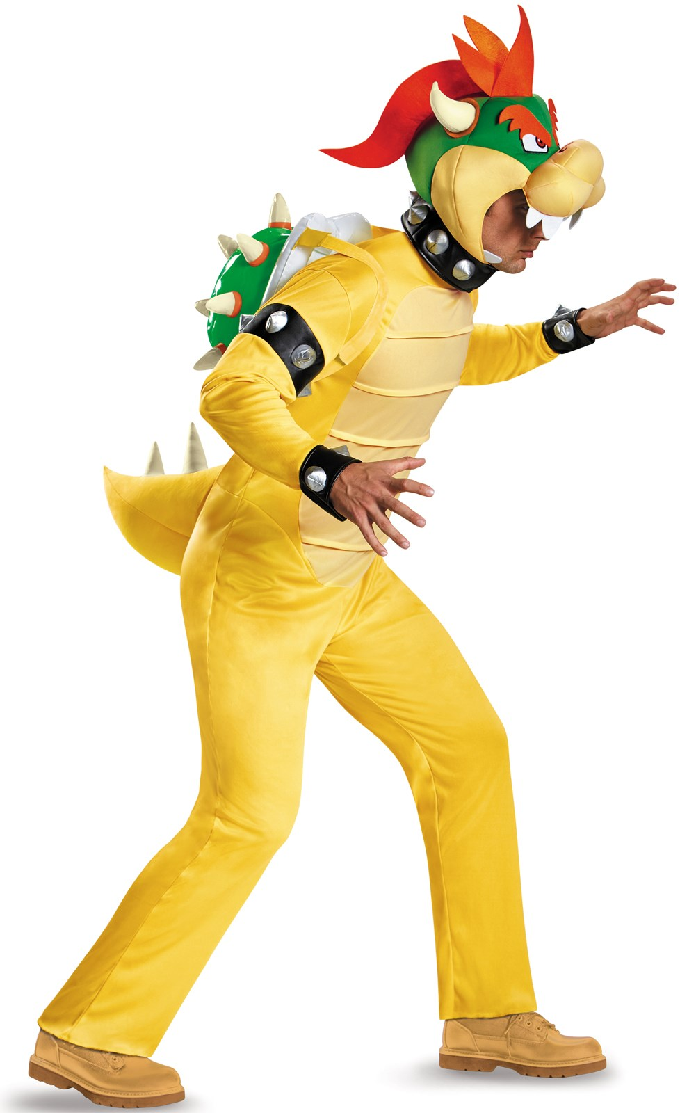 Super Mario: Deluxe Bowser Costume For Adults