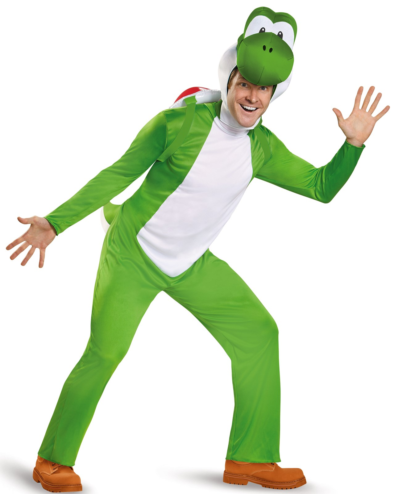 Super Mario: Deluxe Yoshi Costume For Adults