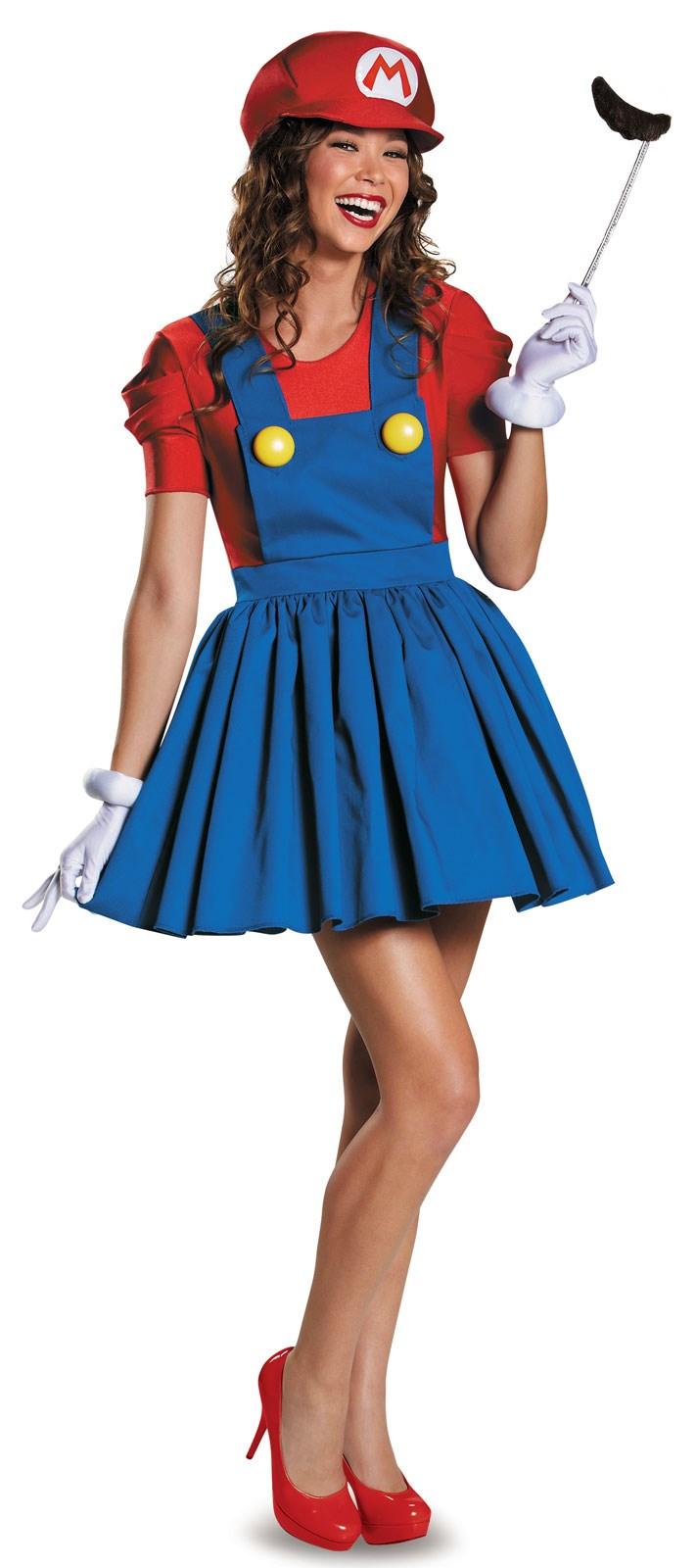 Super Mario: Mario Tween Costume With Skirt