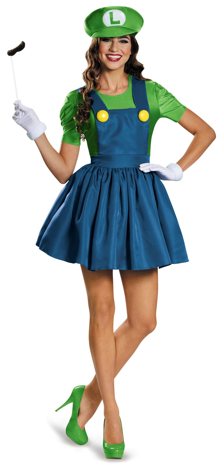 Super Mario: Tween Luigi w/Skirt Costume