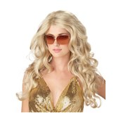 Super Model Blonde Sexy Adult Wig