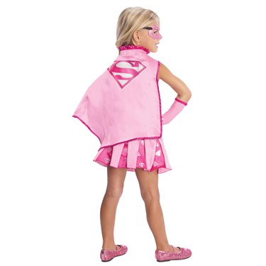 Supergirl Cape With Puff Hanger