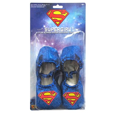 Supergirl Glitter Slipper