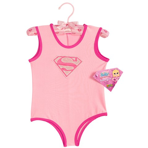 Supergirl - Leotard with Puff Hanger Child