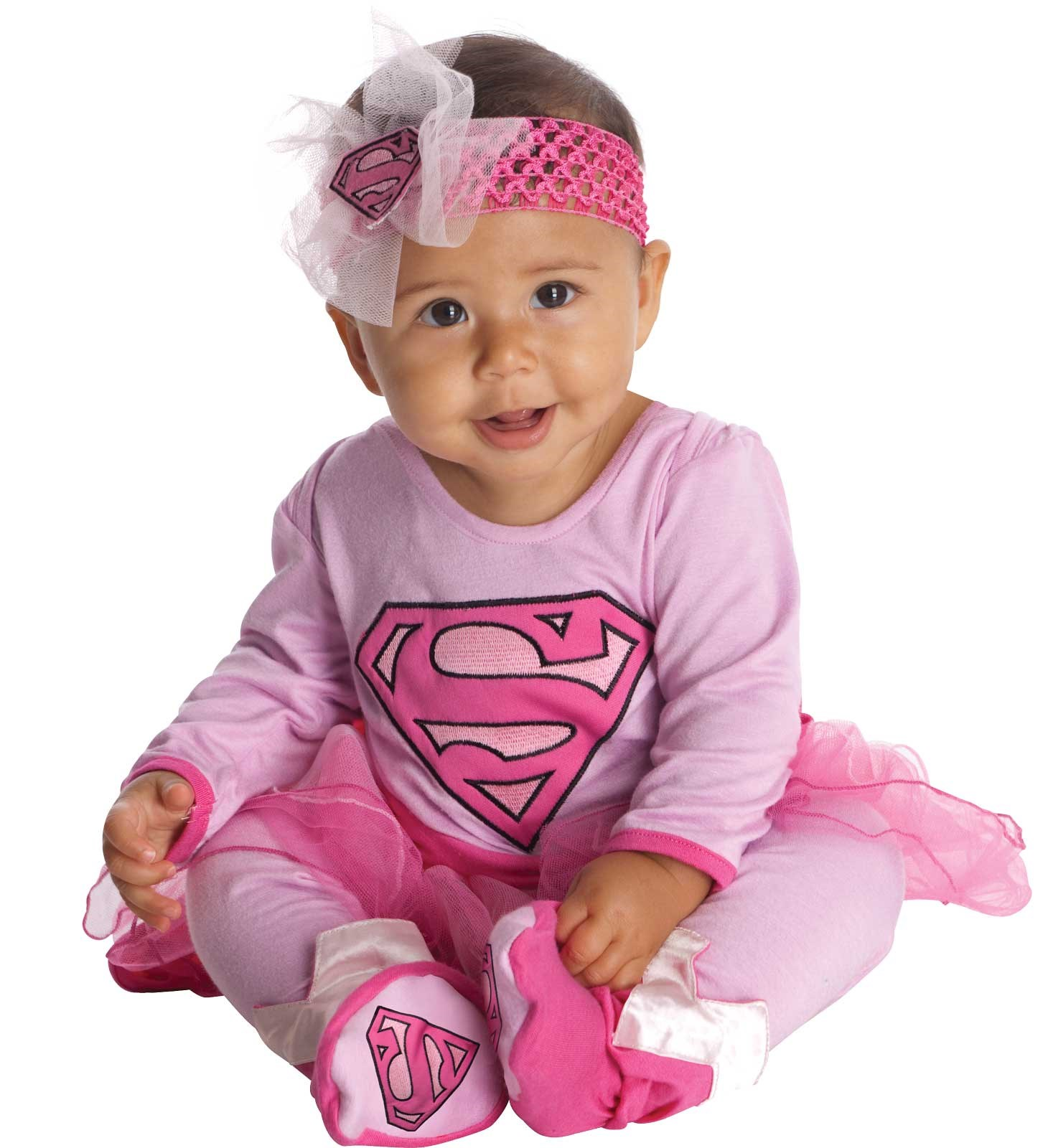 Supergirl Onesie Infant Costume