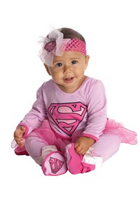 Click Here to buy Supergirl Onesie Baby Costume from BuyCostumes