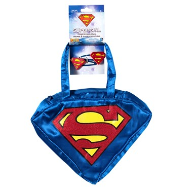 Supergirl Purse and Hairclips