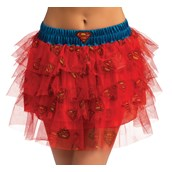 Supergirl Tutu Skirt For Women