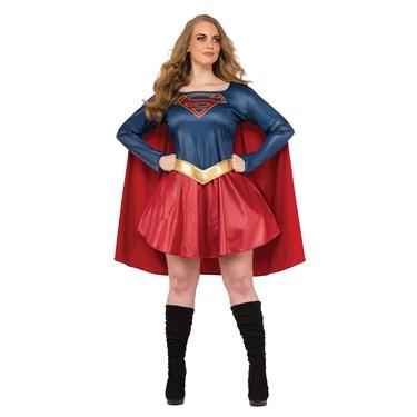Supergirl Tv Adult Plus Costume