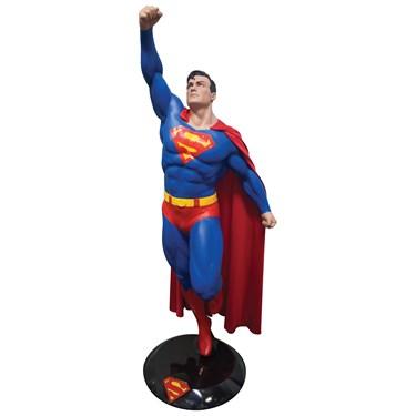 Superman Fiberglass Statue