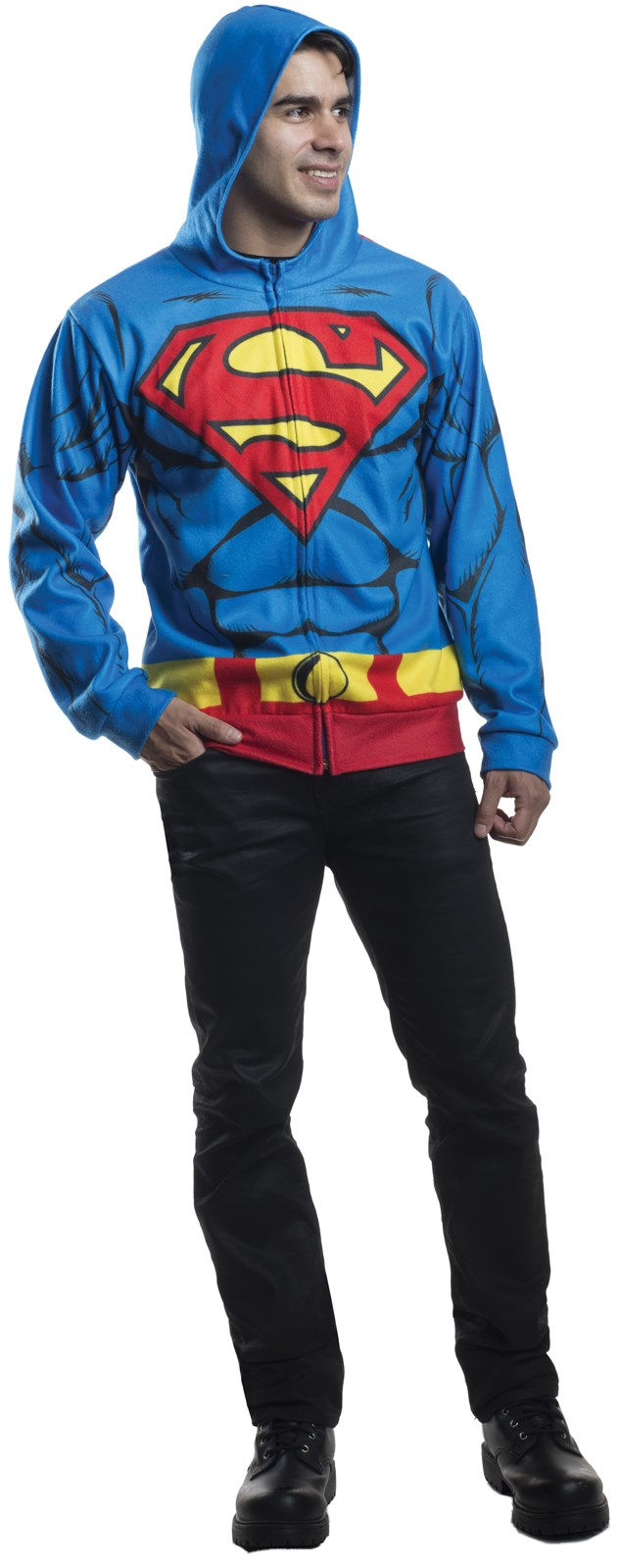 Superman Hoodie For Adults