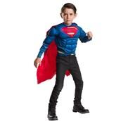 Superman Muscle Chest Shirt Set