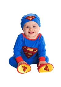 Click Here to buy Superman Onesie Baby Costume from BuyCostumes