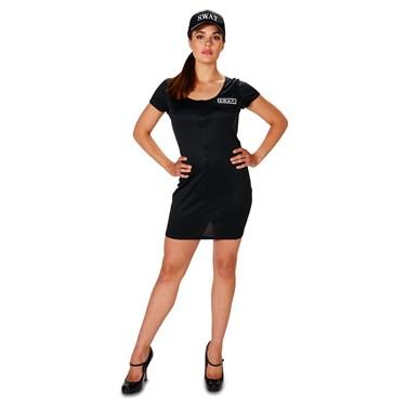 SWAT Team Dress Adult Costume