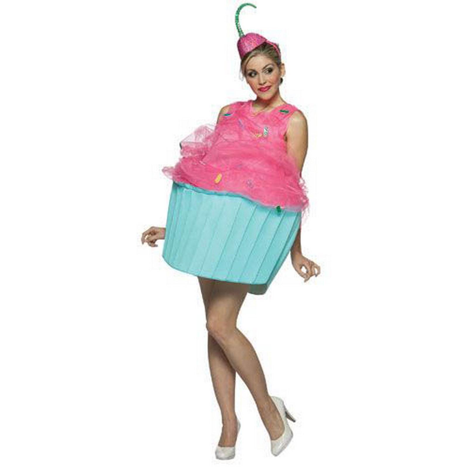 sweet eats cupcake adult costume buycostumescom - Halloween Stores In Austin Texas