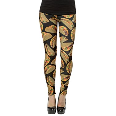 Taco Female Adult Leggings