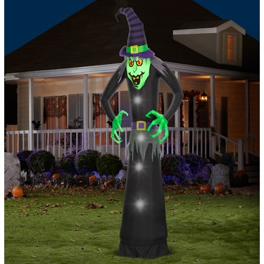 Giant Wicked Witch Dragon Airblown with Lights