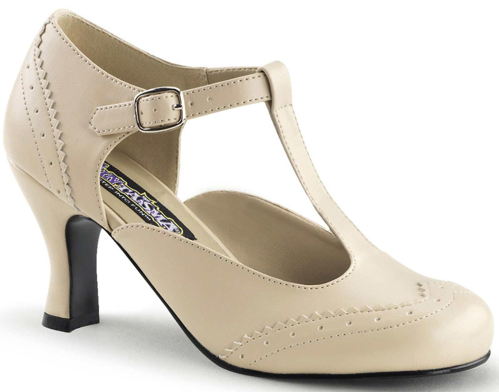 Tan Flapper Shoe Adult