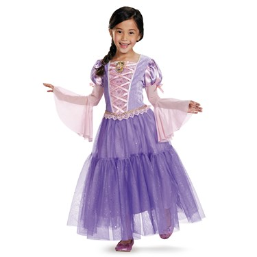Tangled - Rapunzel Deluxe Toddler / Child Costume