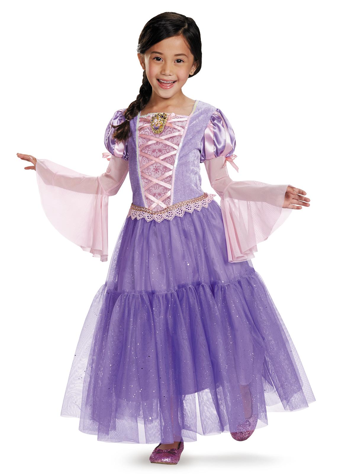 tangled rapunzel deluxe toddler child costume
