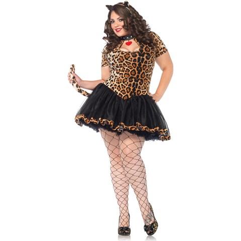 Tantalizing Tabby Adult Plus Costume