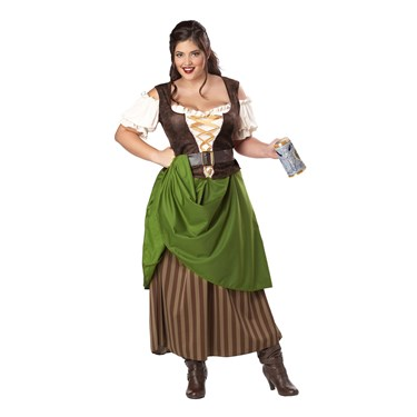 Tavern Maiden Plus Size Adult Costume