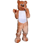 Teddy Bear Economy Mascot Adult Costume