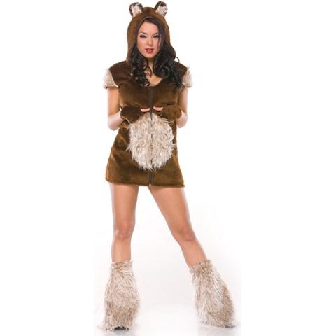 Teddy Bear Girl Adult Costume