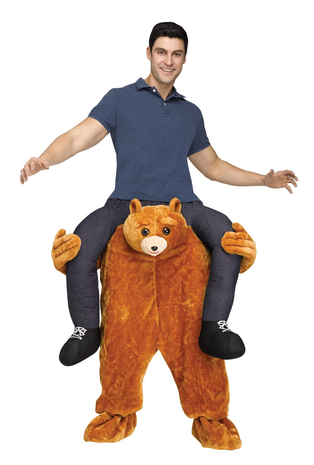 Ride A Bear Adult Costume Buycostumes Com