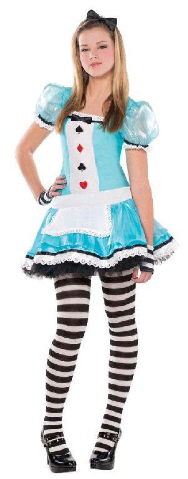 Teen Clever Alice Costume