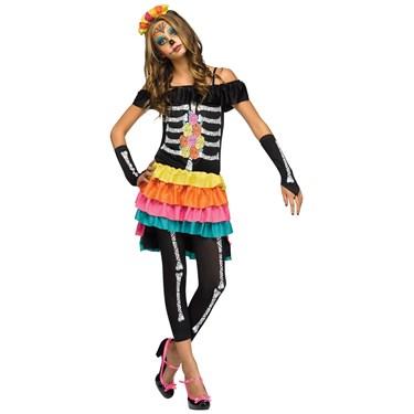 Teen Dia de los Muertos Costume