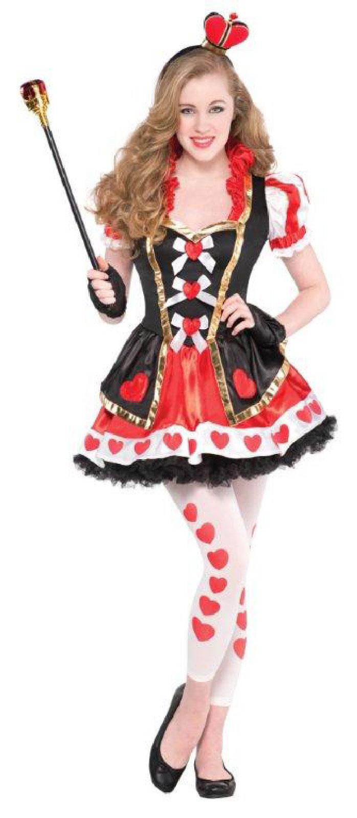 Teen Queen Of Hearts Costume