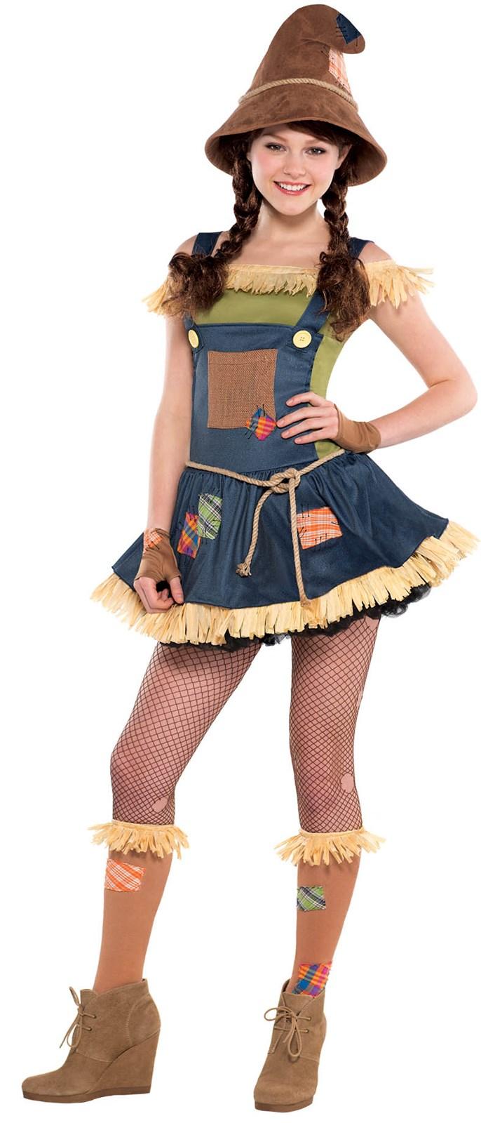 Teen Sweet Scarecrow Costume | BuyCostumes.com
